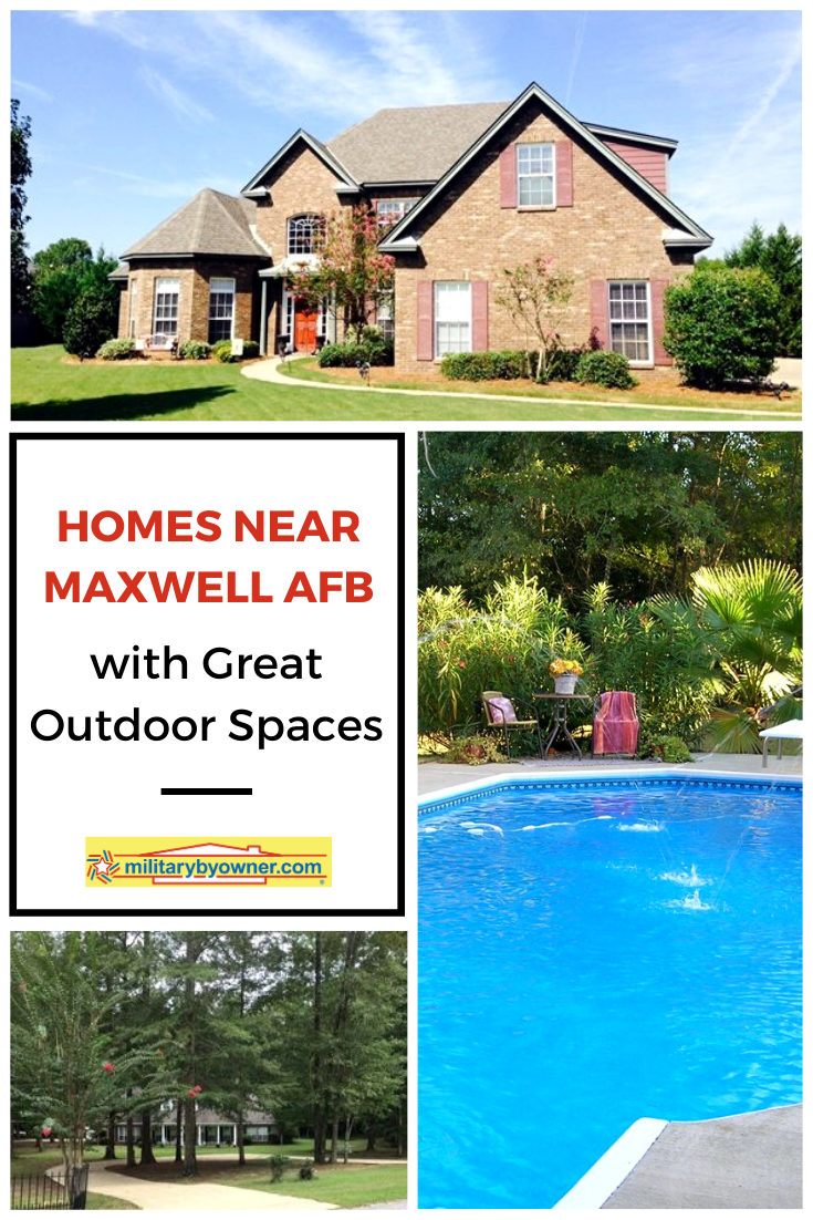Homes with Great Outdoor Spaces Near Maxwell AFB in 2020 ... on Outdoor Living Space Builders Near Me id=36934