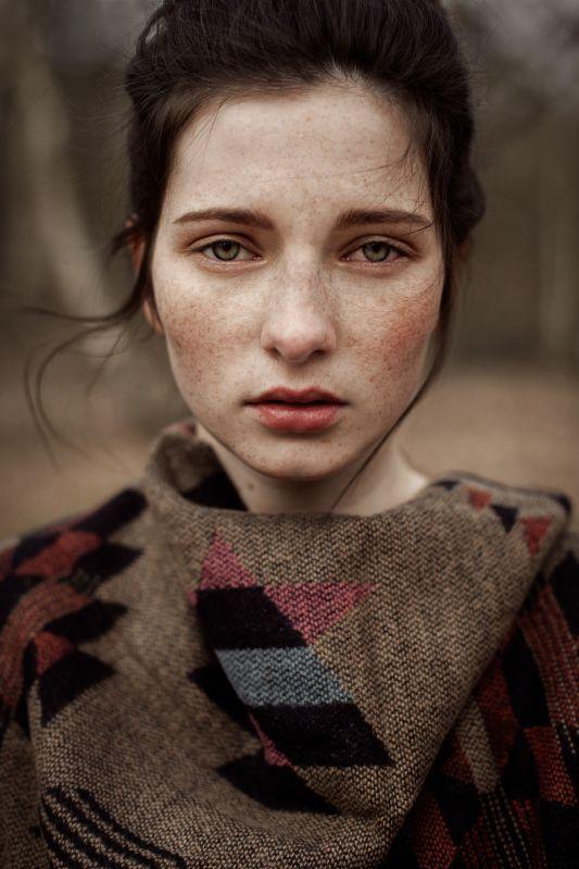 Фото и рисунки, арт и креативная реклама | Портрет женщины ...