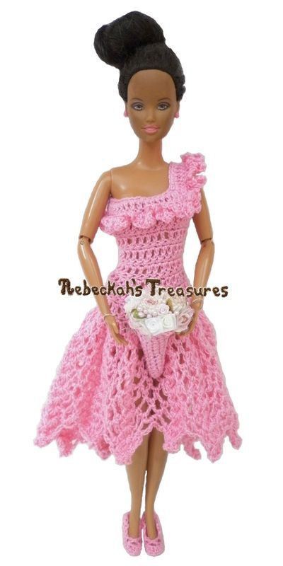 Come meet the lovely lady behind the crochet business Rebeckah's Treasures. She's talented and will certainly give you some fun items for your dolls!