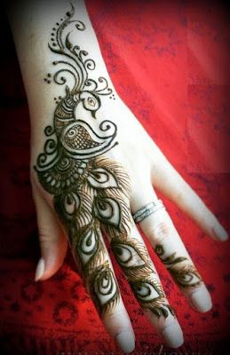 121 Simple mehndi designs for hands || Easy Henna patterns with Images