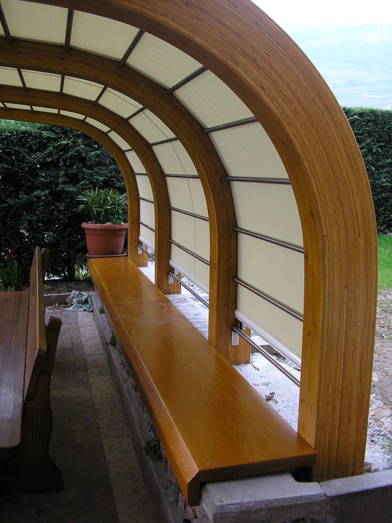 Curved Laminated Wood Beams ~ Glulam shaped curved beams vari tipi g
