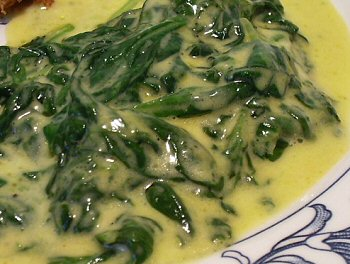 BETTER THAN BOSTON MARKET CREAMED SPINACH Linda's Low