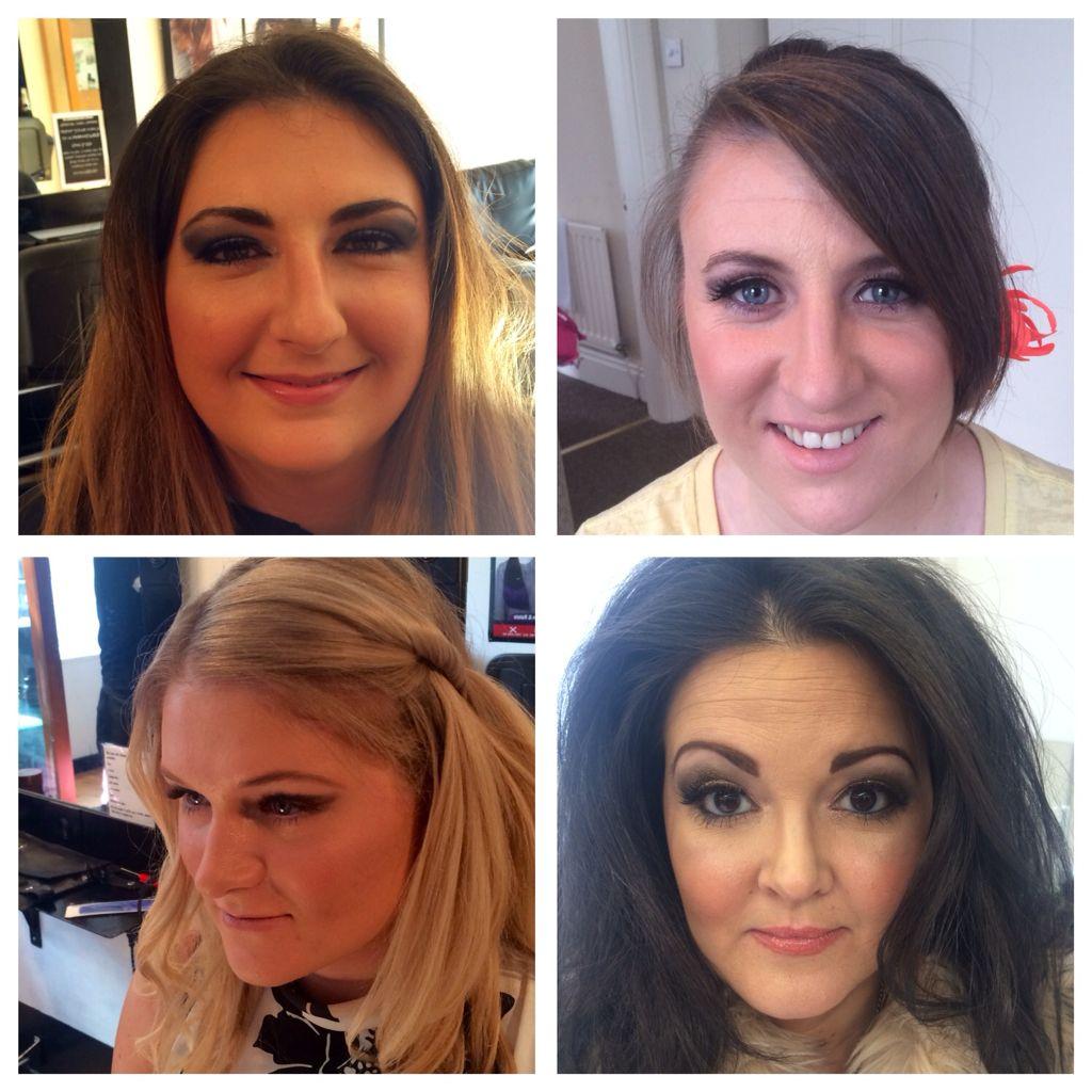 Collage of makeups using mac & Chanel | Makeup, Salons, Mac