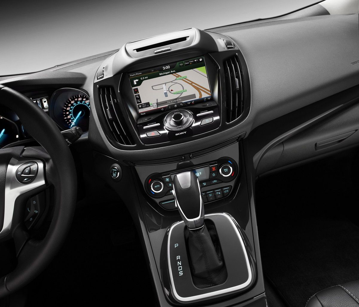 2015 ford escape titanium interior