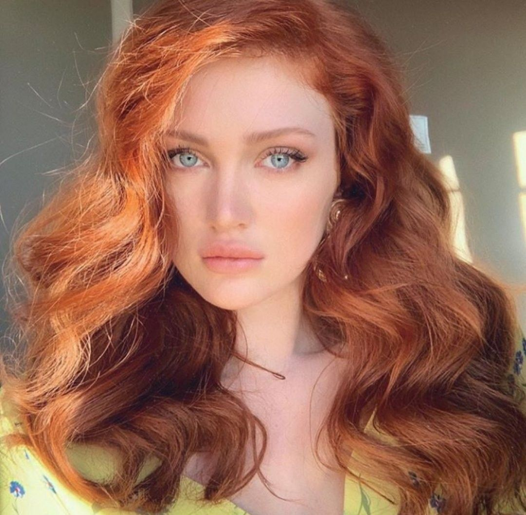 gingerlove. Angelina Michelle | Beautiful red hair, Girls with red ...