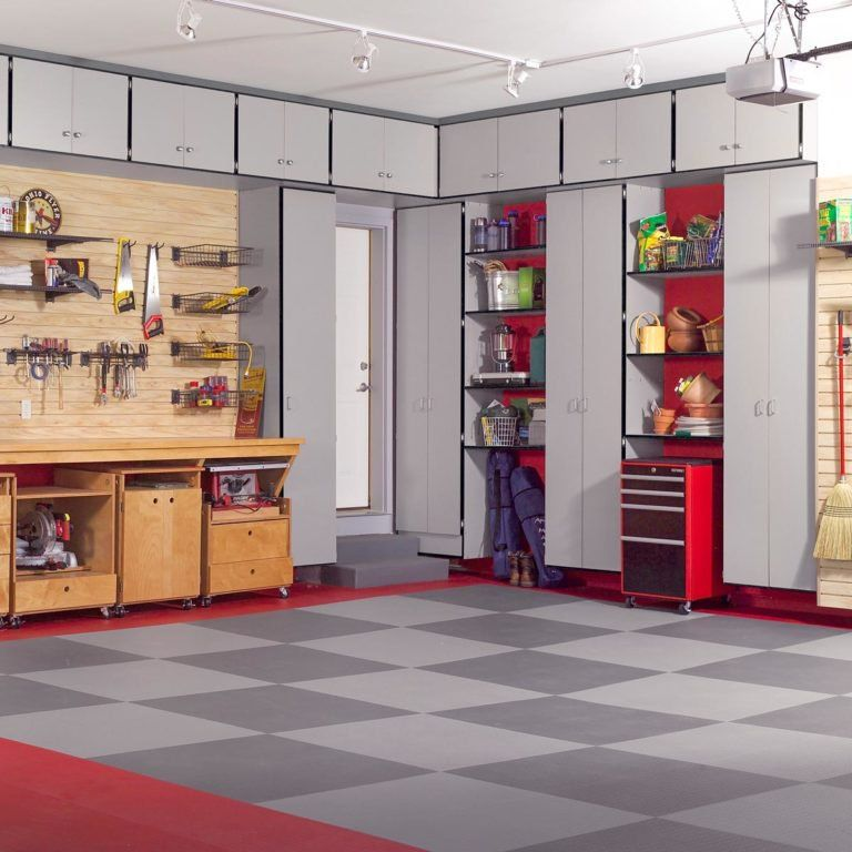 Diy Wooden Garage Cabinets Garage Opbergkasten Opberg Ideeen