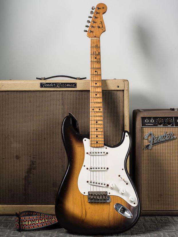 Gary Gand 1954 Fender Stratocaster Musicalinstruments Classical Musical Instruments Fender S Fender Stratocaster Fender Stratocaster Vintage Fender Guitars