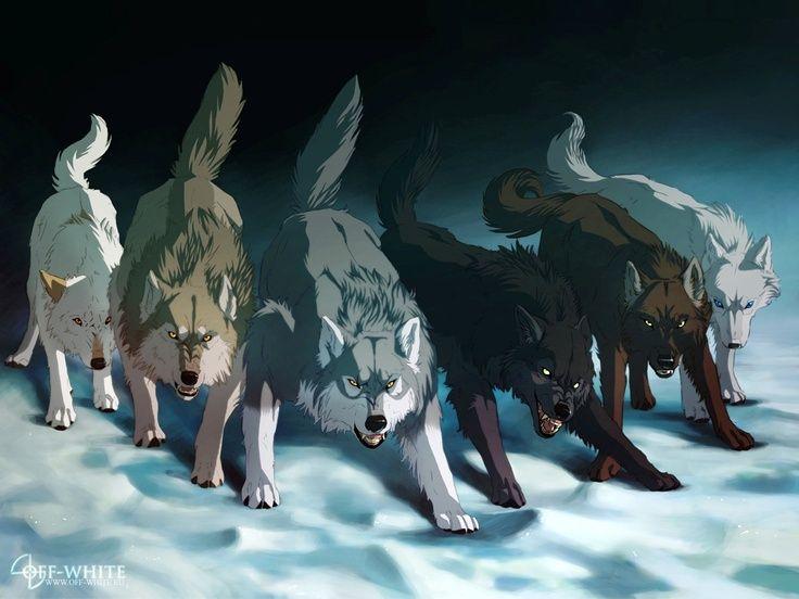 Anime Wolves Wallpapers Wallpapersafari Anime Wolf Wolf Artwork Fantasy Wolf