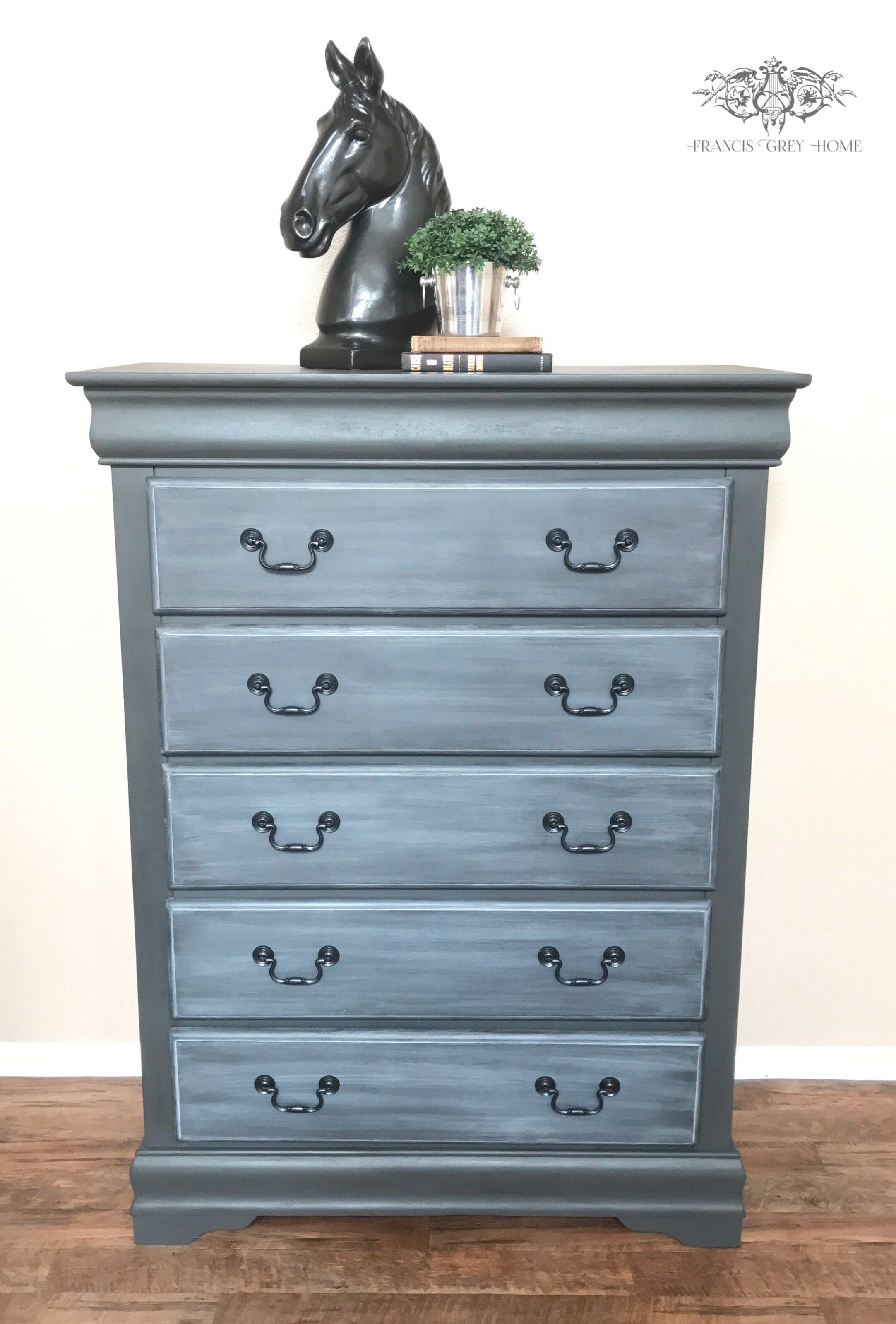 Tall Boy Makeover Chalk Paint Dresser Makeover Dark Grey Dresser Painted Furniture Dressers Makeover Grey Dresser Furniture Makeover [ 3200 x 2165 Pixel ]