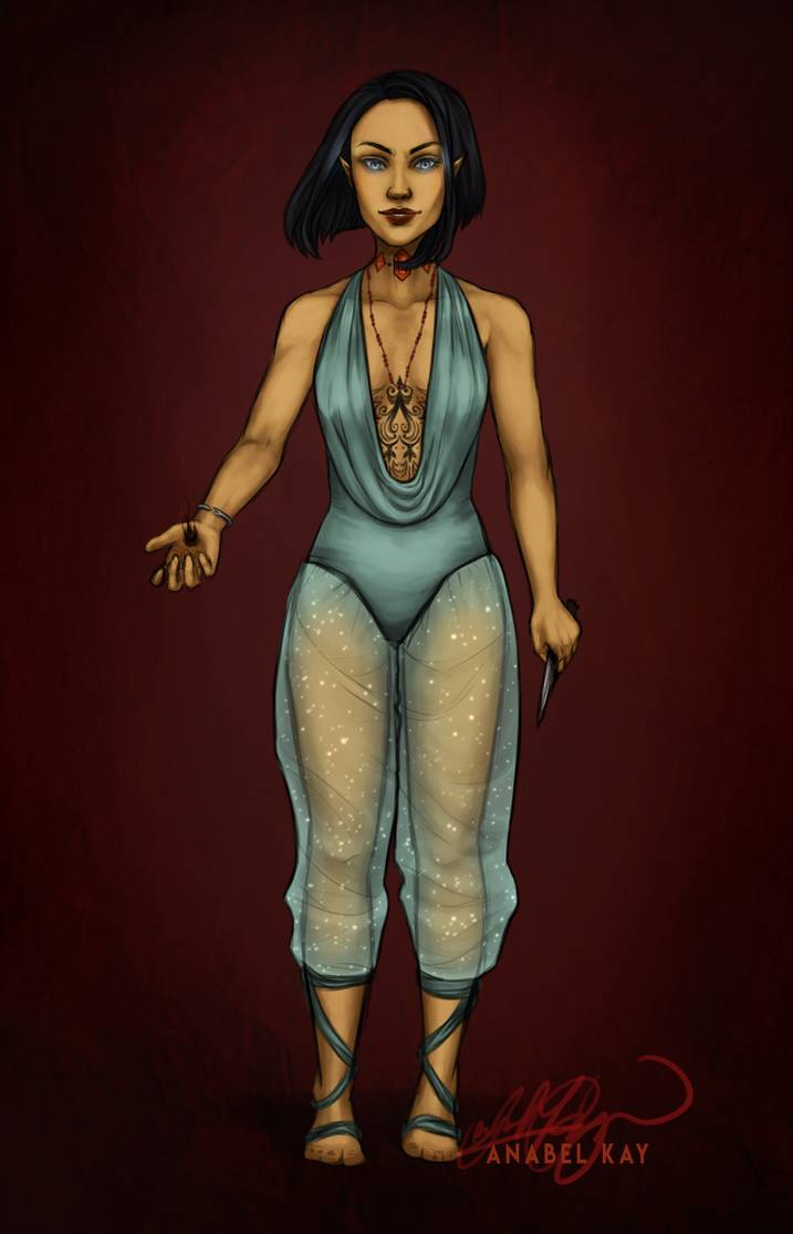 Pin On Crescent Court: Amren // Come Out And Play By Anabelkay On DeviantArt