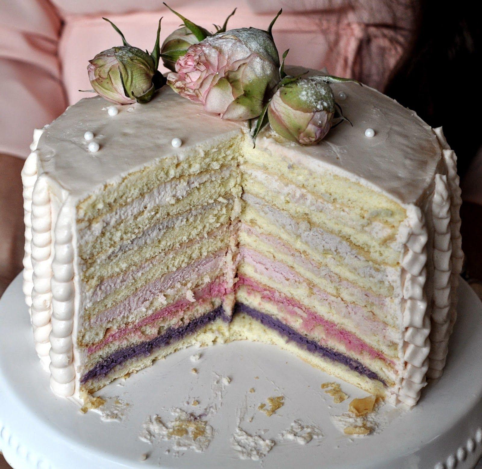 Caketime by Tamaris Vintage Torte Biskuit mit Mascarpone Sahne Frischkäse