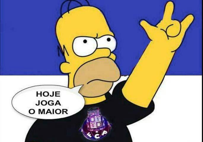 Hoje Joga O Maior Hoje Joga O Grande Porto Fcporto Soccer Cristiano Ronaldo Homer Simpson
