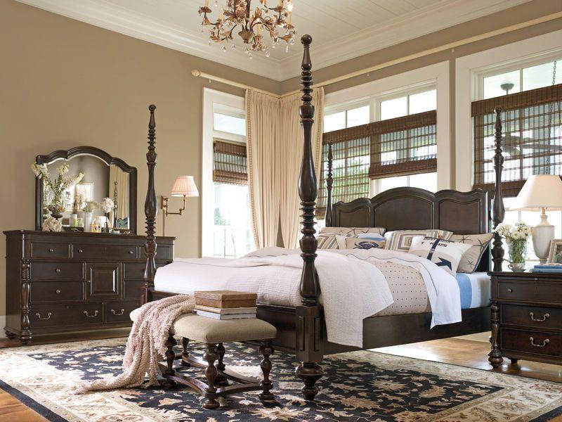 Paula Deen Home Savannah Queen Poster Bed By Universal Traditional Bedroom Paula Deen Furniture Home