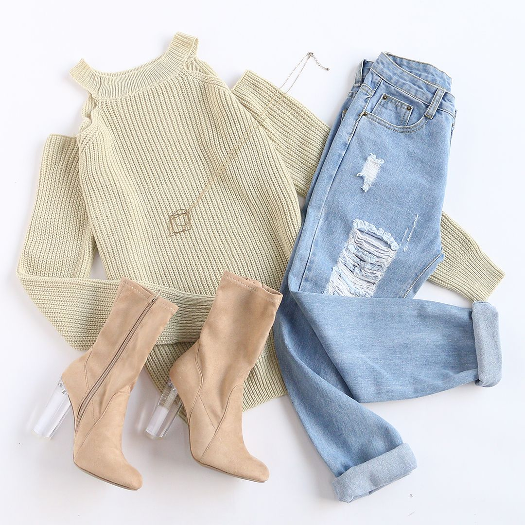 Mix & Match Sweater Weather. from shein.com