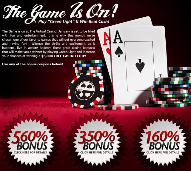 Free Online Virtual Casino Games