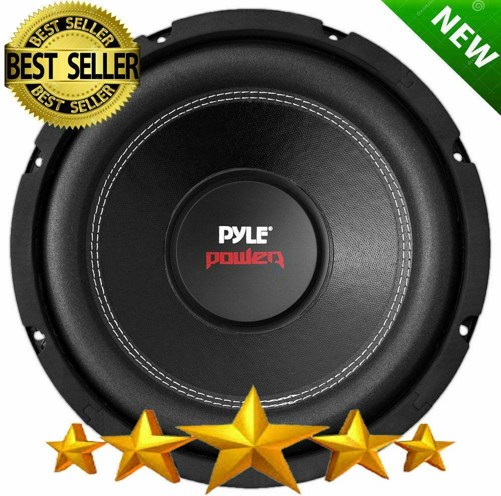 Subwoofer 6 Inch 600 Watt Dual 4 Ohm Car Audio Sub Speaker Box Bass Woofer