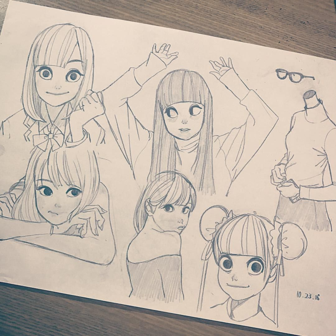 Female reference. Instagram photo by @ryooo.m5 | Drawing // People ...