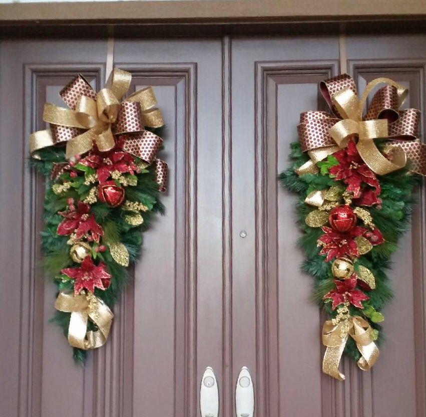 49+ Double door christmas wreath info
