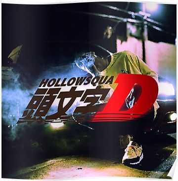 Xavier Wulf Hollow Squad Initial D Poster Xavier Wulf Aesthetic Pictures Underground Rappers