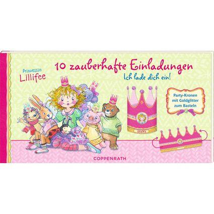 10 Zauberhafte Einladungen In Kronen Form Von Prinzessin
