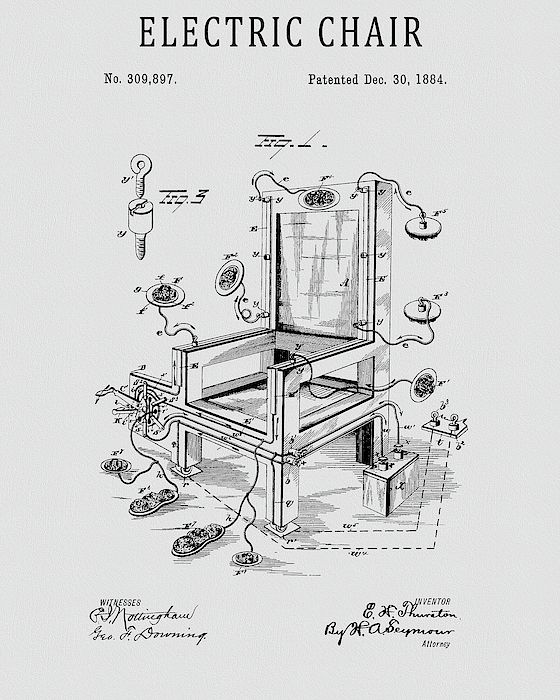 05387a27aa3 Pin by Dan Sproul on Patents For Sale | Pinterest | Prints, Dan and  Electric chair