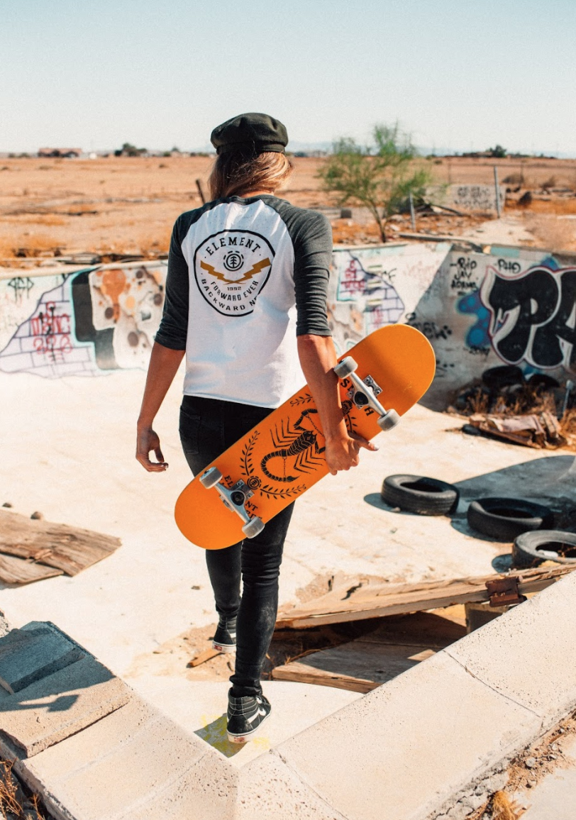 Follow The Unknown Skater Look Skate Girl Skateboard Clothes