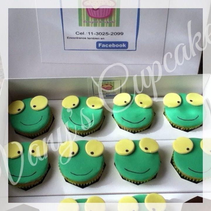 Cupcakes Sapo Pepe
