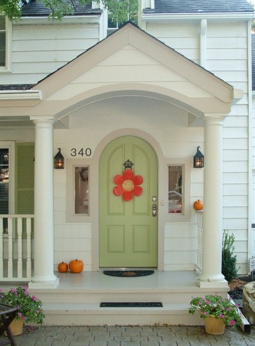 Kaufman Construction Design And Build Arched Front Door Front