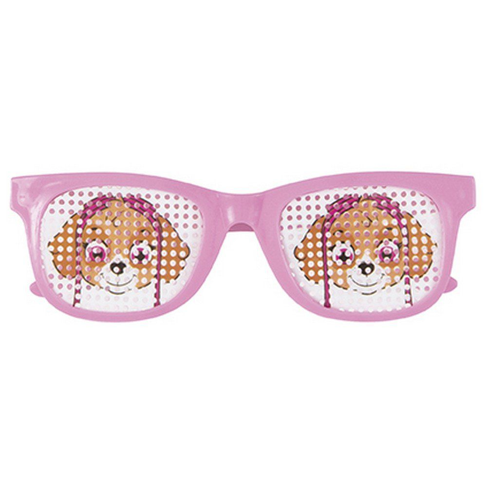 Pink Paw Patrol Glasses (4) - Girl paw patrol party, Paw patrol birthday theme, Pink paws, Paw patrol birthday girl, Skye paw patrol party, Pink party supplies - Pink Paw Patrol Glasses (4)