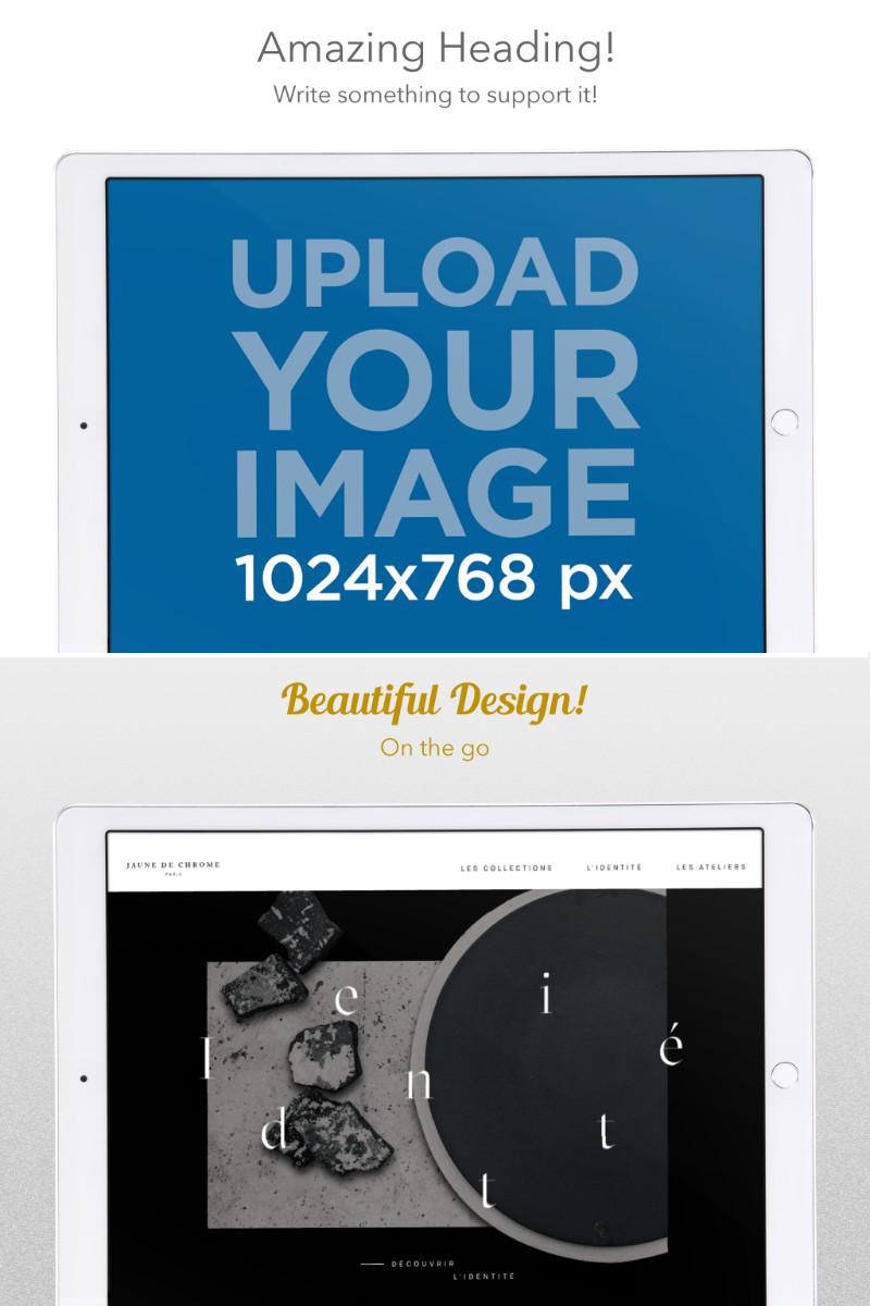 Horizontal iPad App Store Screenshot Builder Cropped
