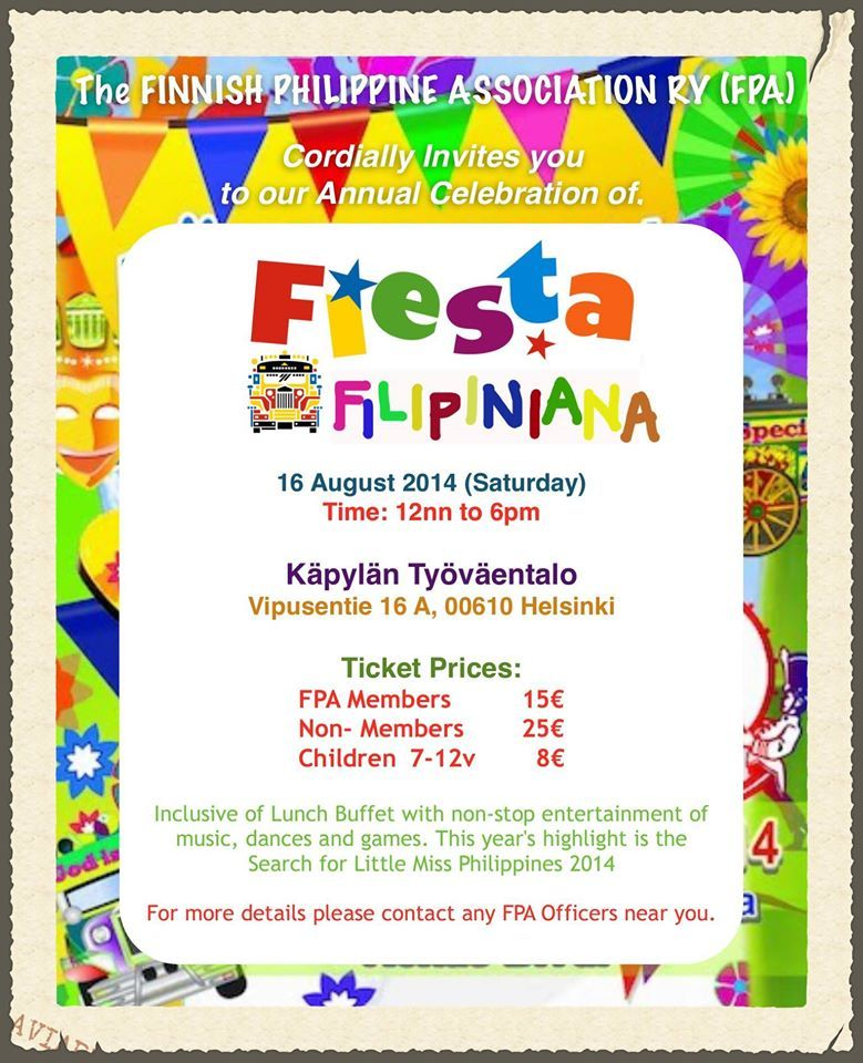 Fiesta Filipiniana 2014