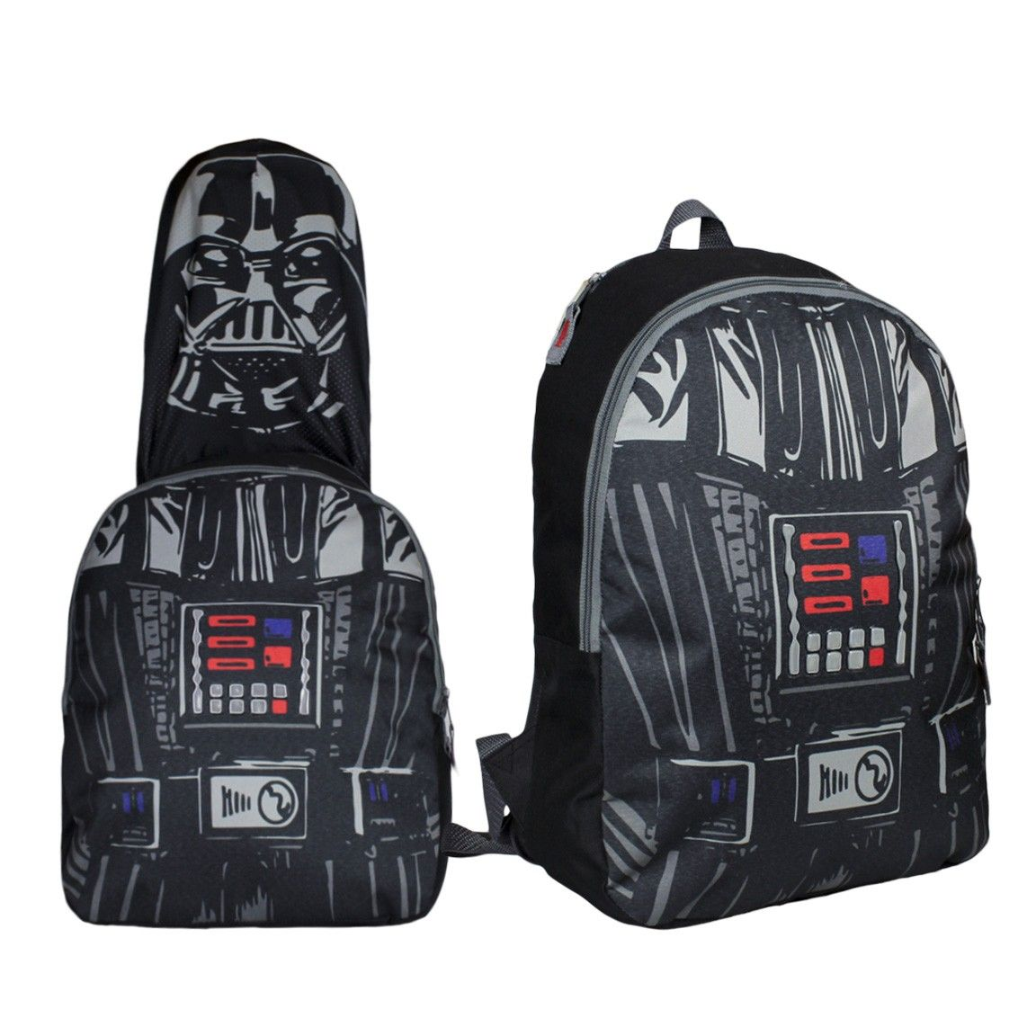 e9cdb78d4b6537 Star wars rebels · Mochila y disfraz de Darth Vader todo en uno. Mochila  juego. Ideal para jugar