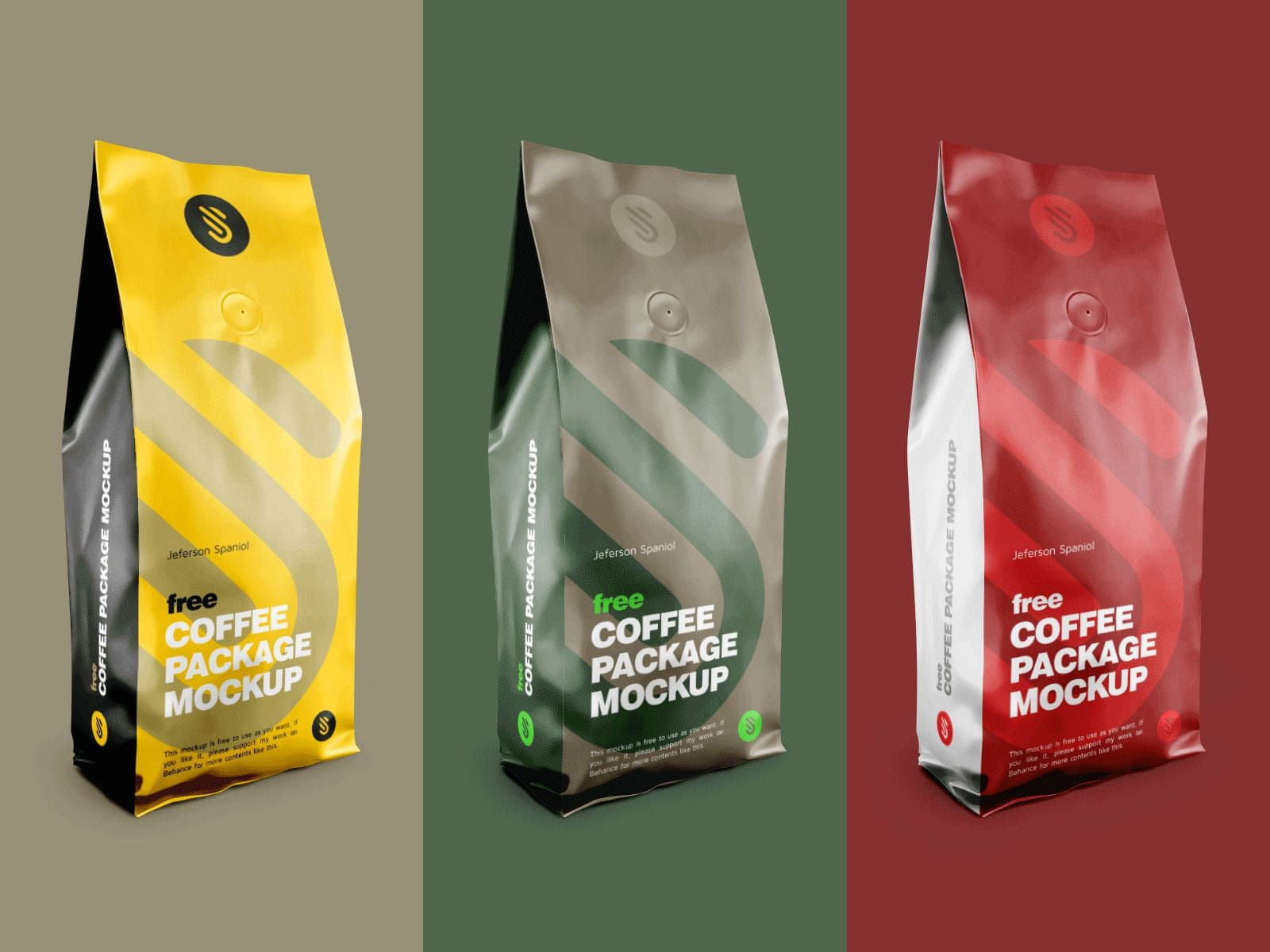Aluminium Coffee Packaging Download Free Psd Mockup Coffee Packaging Glass Packaging Packaging Design Inspiration