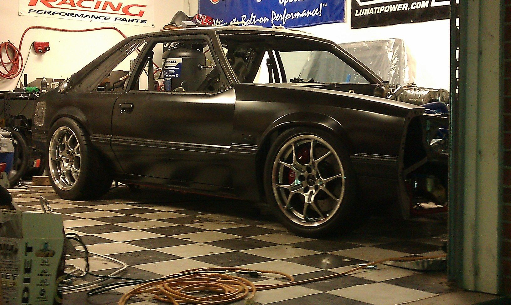 Love The Stance On This Fox Mustang Wonder What Suspension It