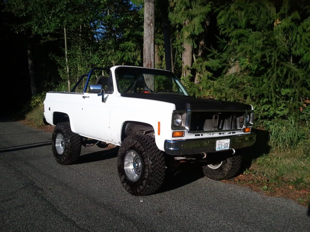 Pickup 74 chevy pickup : My 74 with roof off | My Chevy K5 Blazers | Pinterest | k5 Blazer ...
