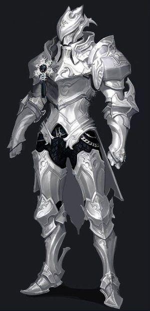 White Knight in 2019 | Fantasy armor, Dragon armor, Knight ...