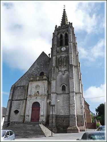 église Saint Léger de Fauquembergues. Nord-Pas-de-Calais
