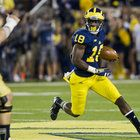 Countess makes his first two career interceptions as the Wolverines hold off Notre Dame, 41-30.