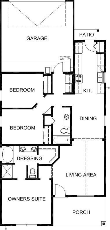 Twilight Homes Antigua Floor Plan Floor Plans House Floor Plans How To Plan
