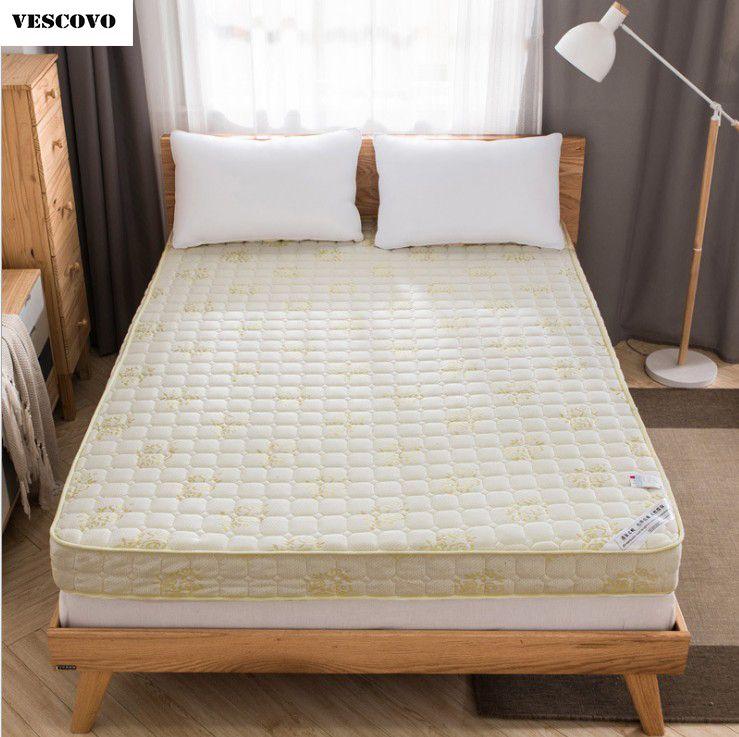 VESCOVO Hoge dichtheid koningin/twin size bed foam matras tatami mat ...