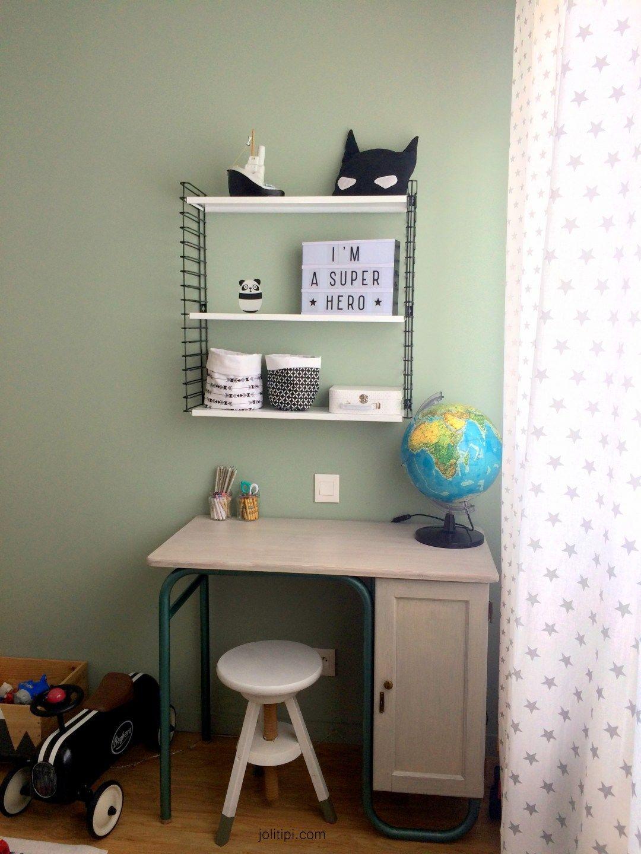 room tour chez l o sa nouvelle chambre noire et blanche chambre bebe enfant pinterest. Black Bedroom Furniture Sets. Home Design Ideas