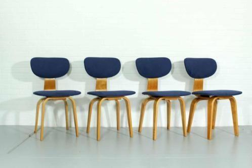 Design Pastoe Stoelen : Pastoe braakman sb stoelen vintage design lounge chairs