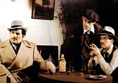The Sting (1973) -  Directed by George Roy Hill. With Paul Newman, Robert Redford, Robert Shaw, Charles Durning.