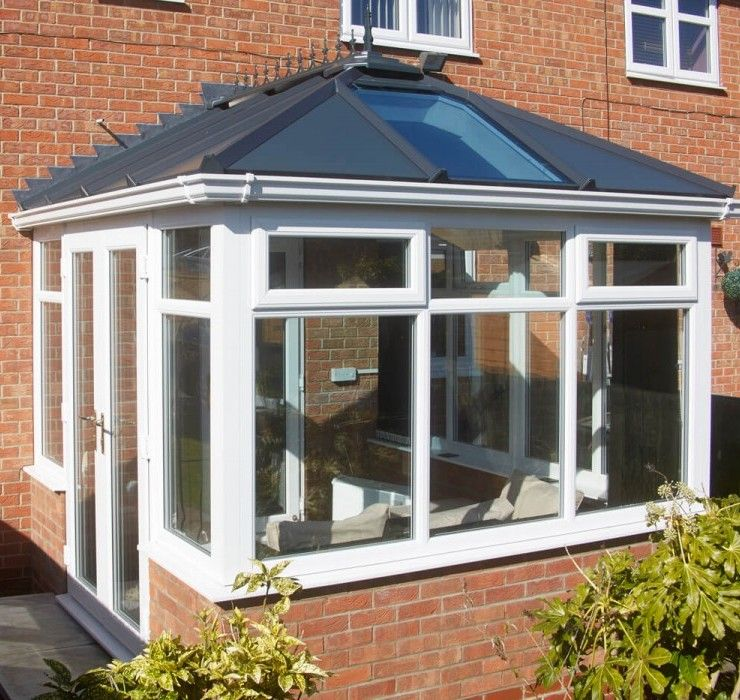 Hybrid Roof Solid Roof Conservatory Roof Conservatory Design House Extension Design Conservatory Interior