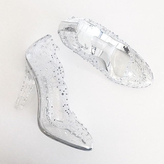 Glass slipper, Wedding shoes