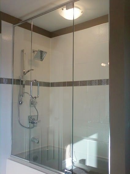 I'm needing to get some glass shower doors put up in the