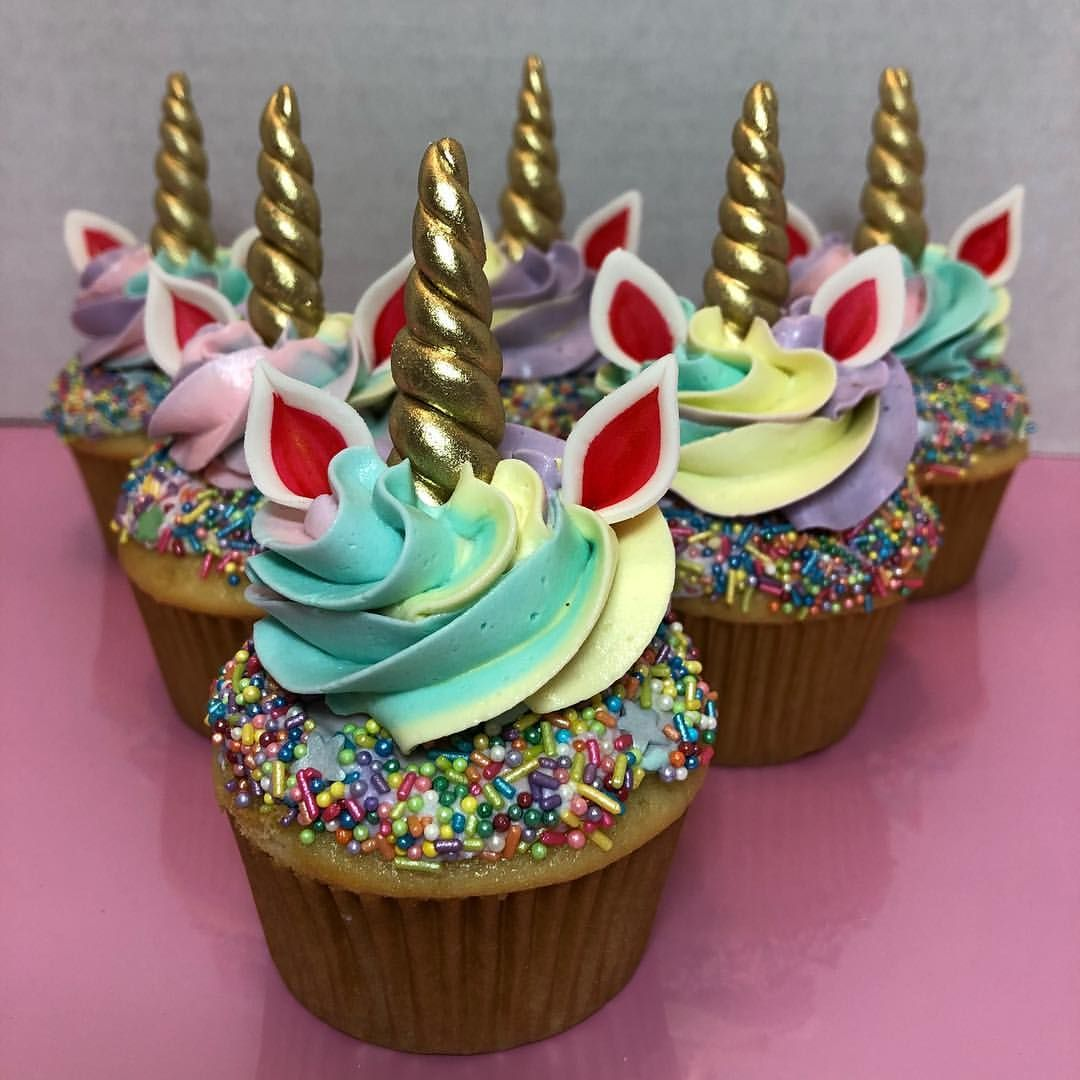 Unicorn Cupcakes For My Sweet And Crazy Little Niece Love
