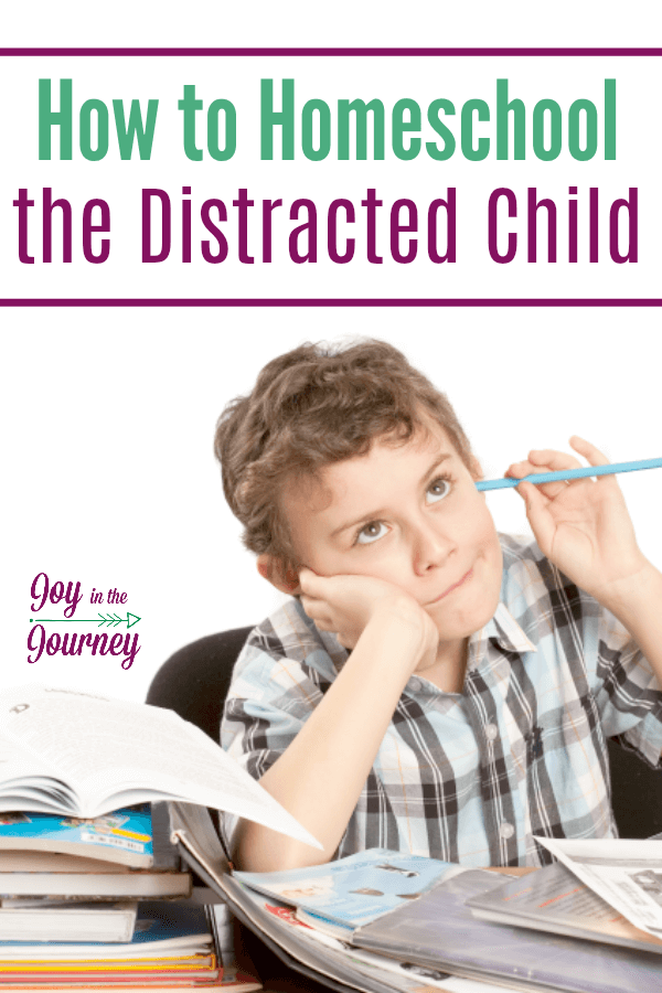How to Homeschool the Distracted Child | Special Needs ...