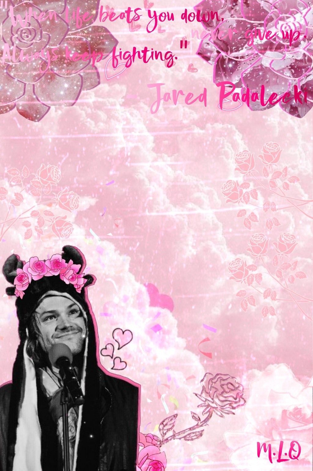 So i might have an obsession for flower crowns but here is an edit so i might have an obsession for flower crowns but here is an edit of jared izmirmasajfo