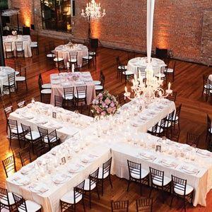 Bay 7 Reception Wedding Table Setupwedding